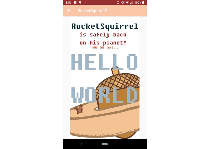 RocketSquirrel: Hello World – screenshot 5
