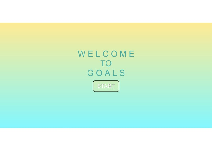 Goals – screenshot 1