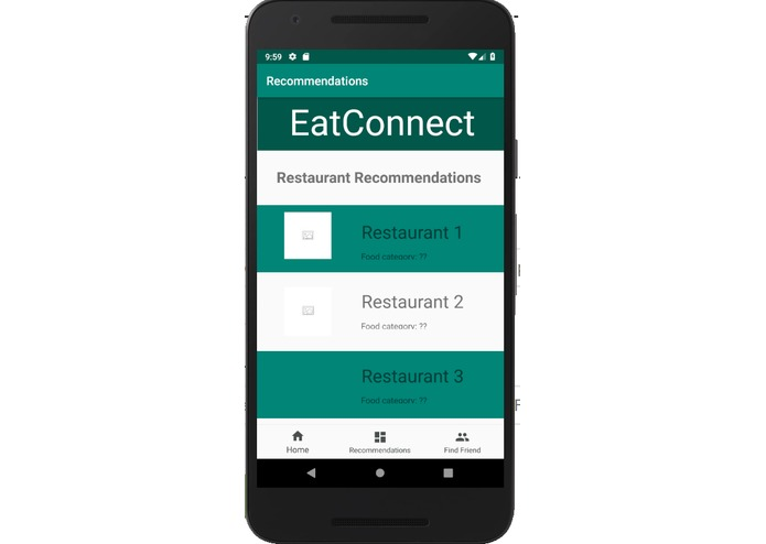 EatConnect – screenshot 1