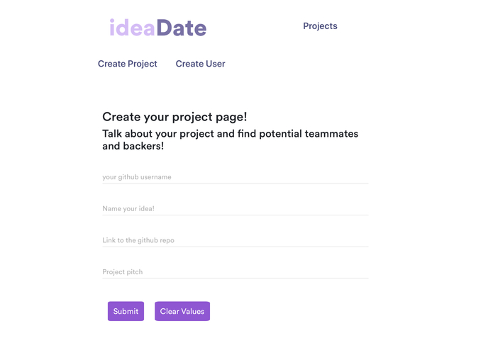 ideaDate – screenshot 5