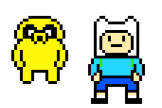 8-Bit Cal Feat. Finn and Jake