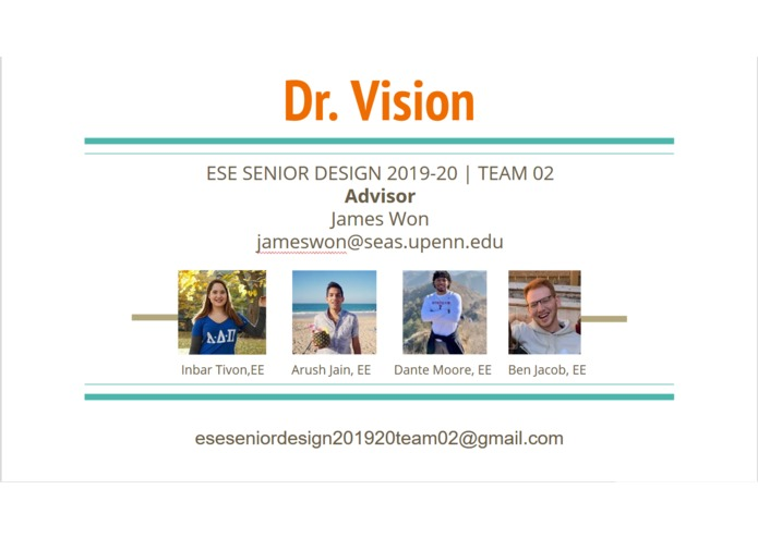 Team 2: Dr. Vision – screenshot 2