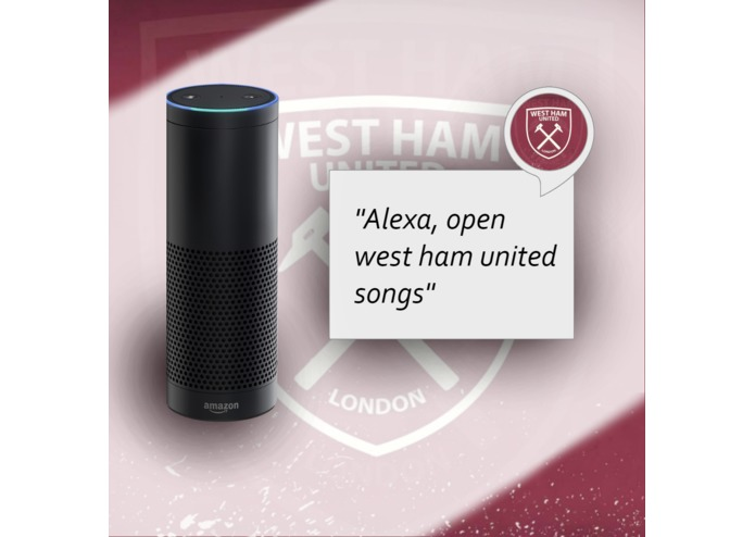Alexa Skill - West Ham United Songs – screenshot 1
