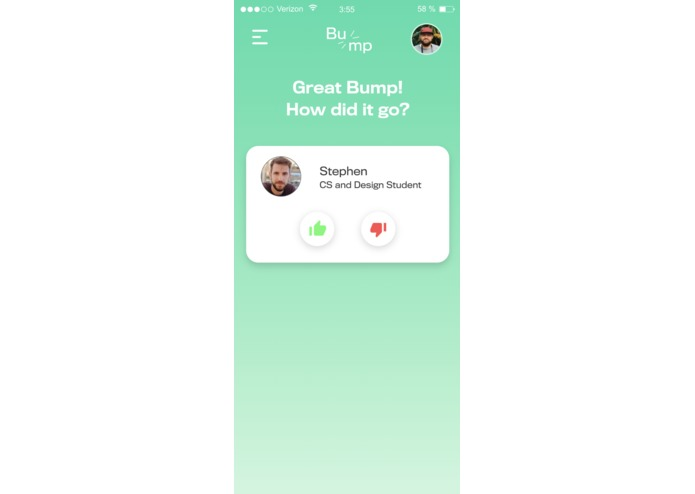 BUMP: Smart Location-Based Conversation Starter – screenshot 6