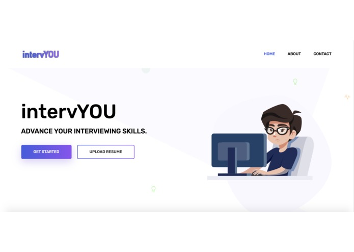 HackHarvard2019-IntervYOU – screenshot 1