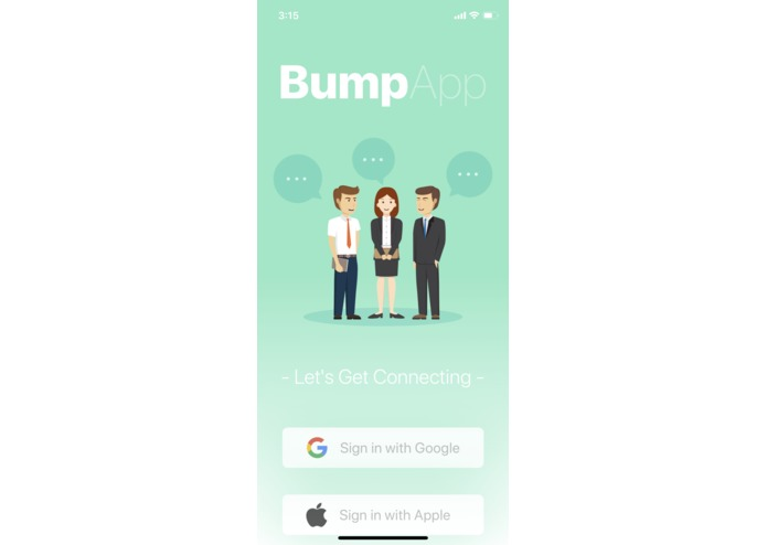 BUMP: Smart Location-Based Conversation Starter – screenshot 1
