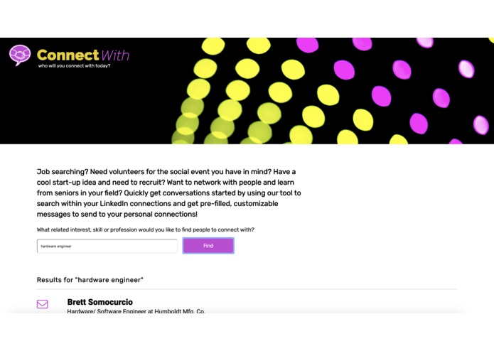 ConnectWith – screenshot 1