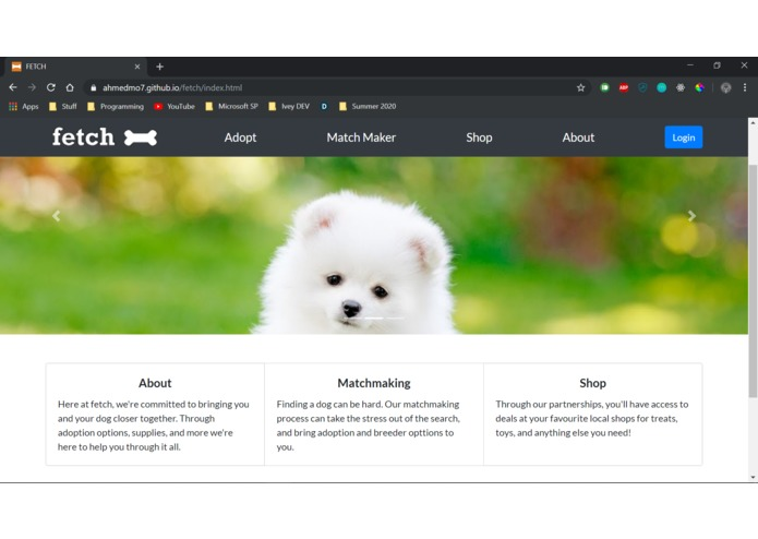 FETCH – screenshot 1