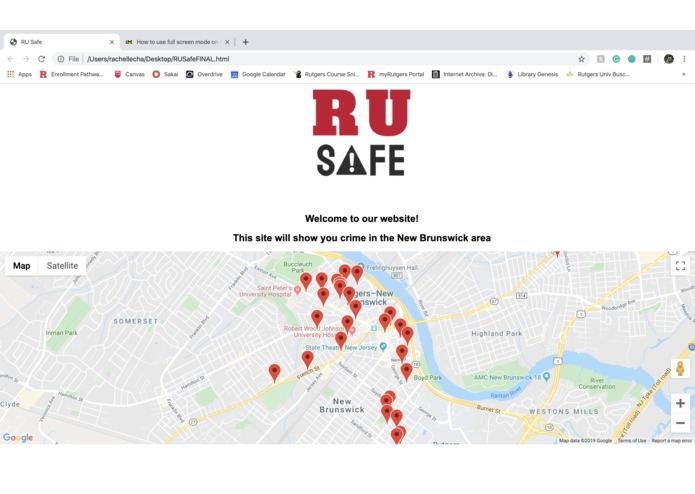 RU Safe – screenshot 1