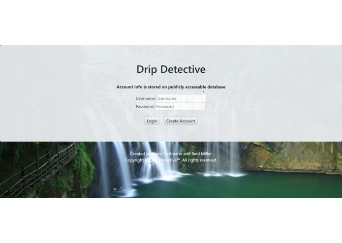 Drip Detective – screenshot 1