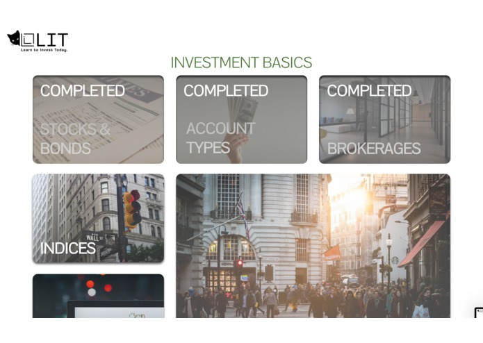 LIT: Learn to Invest Today – screenshot 1