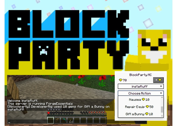 BlockParty for Minecraft – screenshot 2