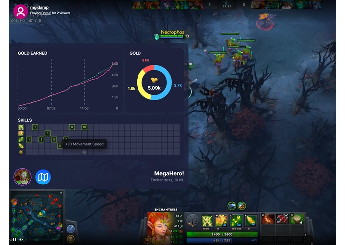 Kouch for Dota 2 streamers edition – screenshot 1
