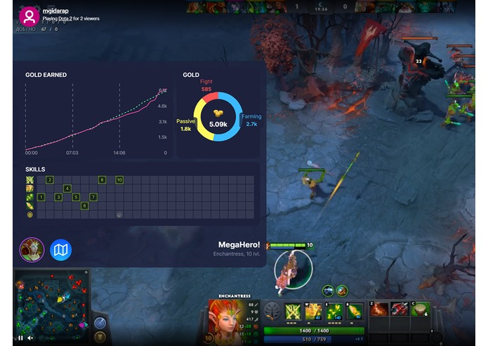 Kouch for Dota 2 streamers edition – screenshot 2