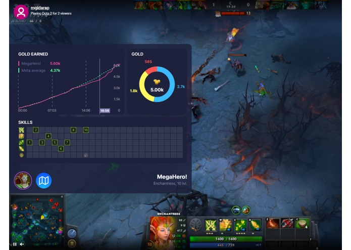 Kouch for Dota 2 streamers edition – screenshot 5