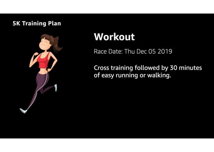 My Training Plan – screenshot 3