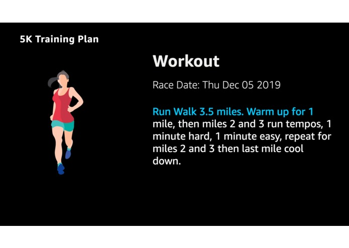 My Training Plan – screenshot 4