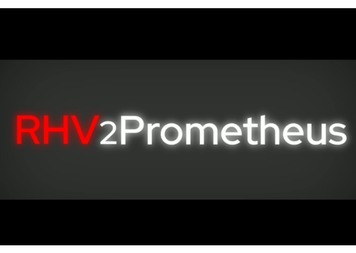rhv2prometheus – screenshot 1