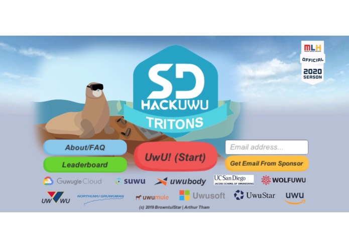 HackUWU Tritons – screenshot 1