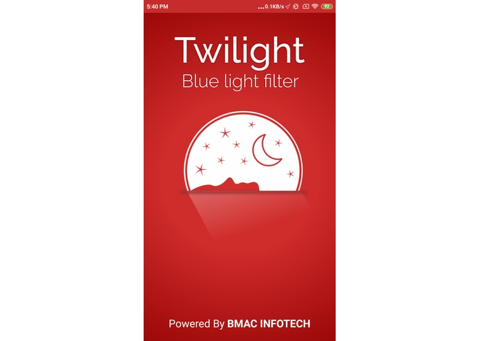 Twilight Blue Light Filter – screenshot 4