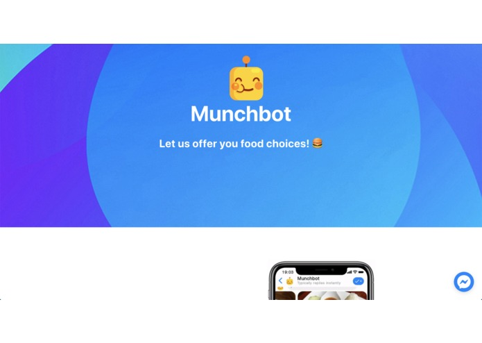 Munchbot – screenshot 1