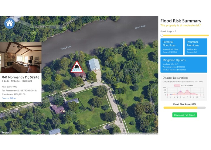 National Flood Resilience Assistant – screenshot 1