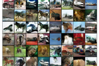 Generating images from noise using Deep Convolutional GAN