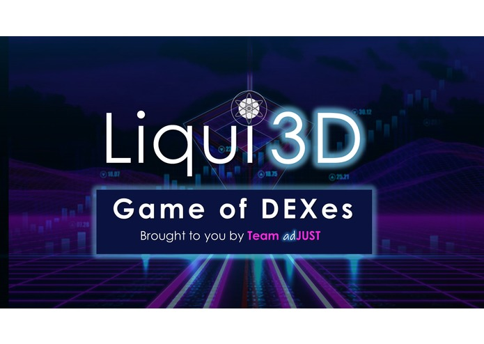 Liqui3D (Game of DEXes) – screenshot 1