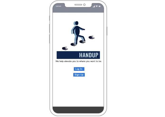 HandUp – screenshot 1