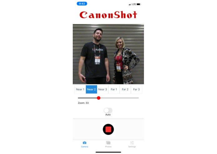 CanonShot: A Remote App – screenshot 3