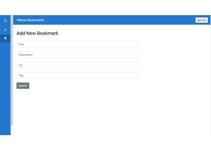 Weave Bookmarks – screenshot 5