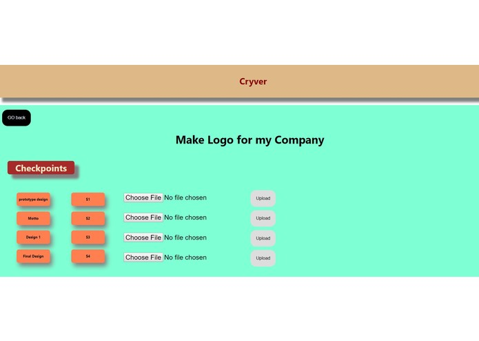 CRYVER – screenshot 3