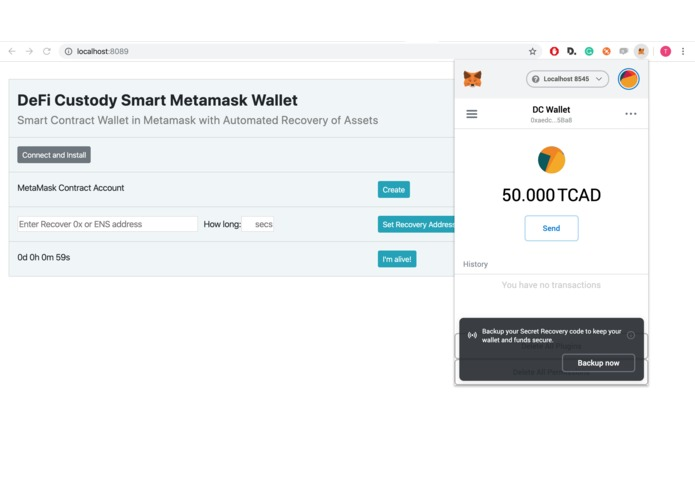 DeFi Custody Wallet – screenshot 7