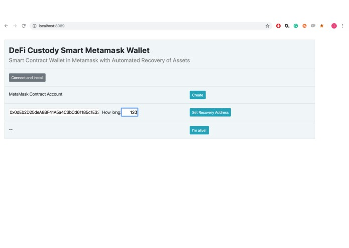 DeFi Custody Wallet – screenshot 8