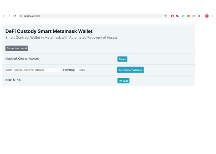 DeFi Custody Wallet – screenshot 9