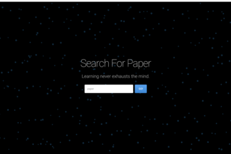 scientific paper search & analyzer