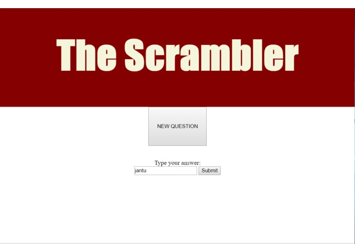 The Scrambler – screenshot 1