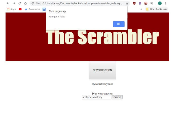 The Scrambler – screenshot 2