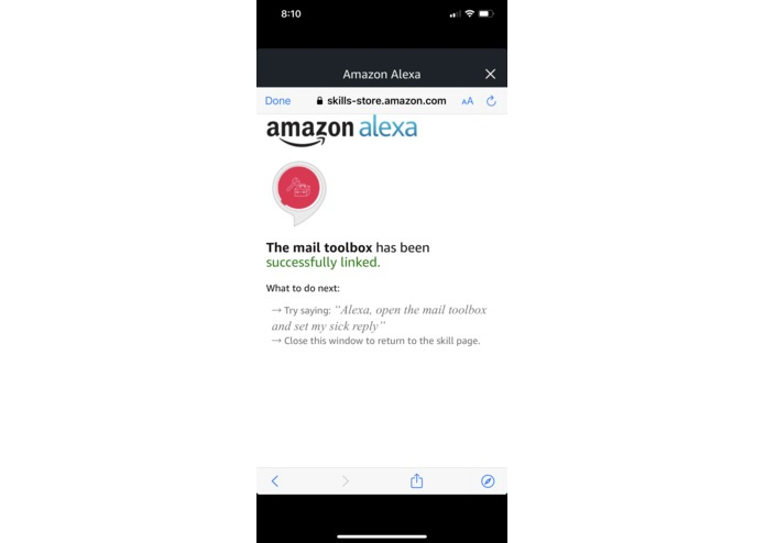The Alexa Mail Toolbox – screenshot 7