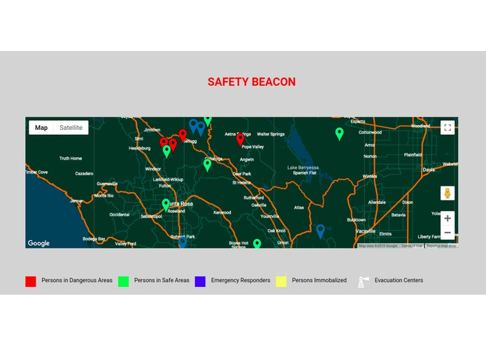 SafetyBeacon – screenshot 1