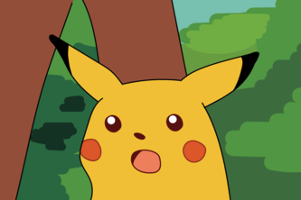 Surprised Pikachu Meme Library