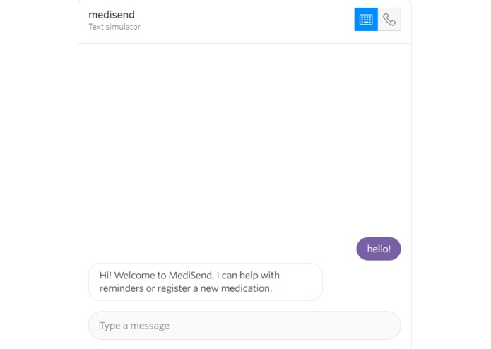 Medi-Send – screenshot 1
