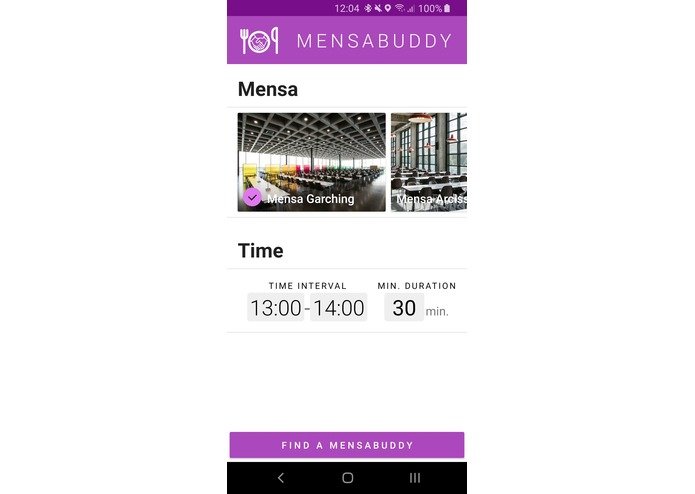 MensaBuddy – screenshot 2
