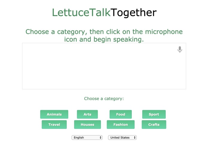 LettuceTalk – screenshot 2