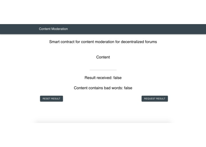 Content Moderation – screenshot 1