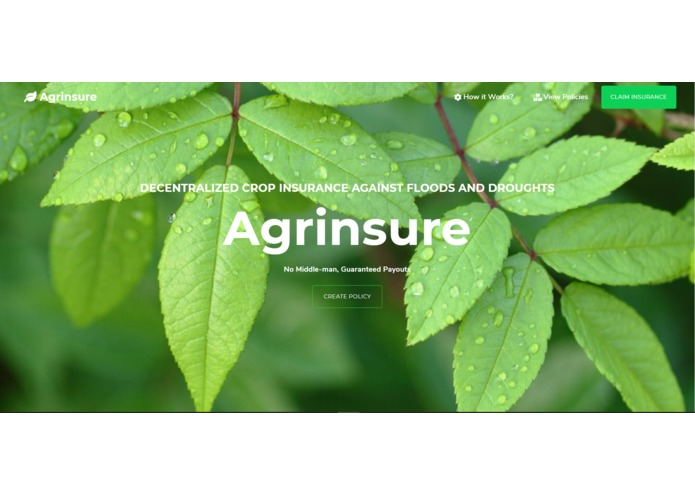 Agrinsure – screenshot 1