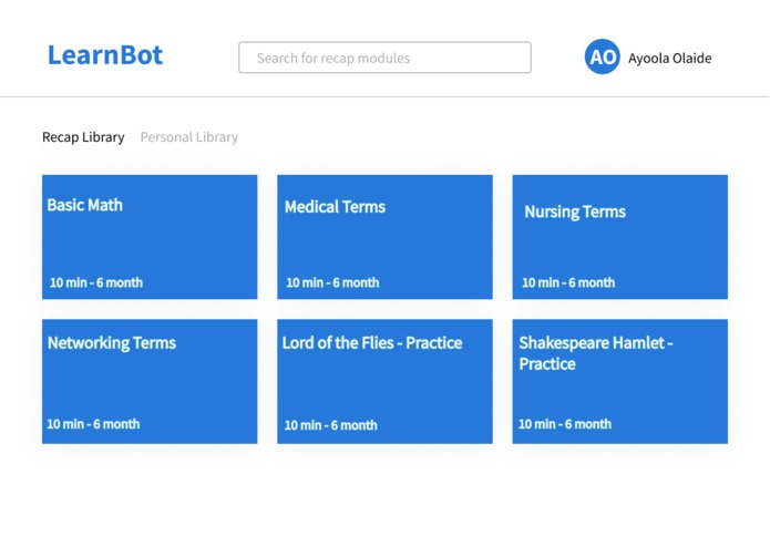 Learn Bot – screenshot 5