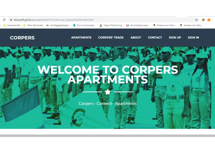 Youth Corper's (Connect and Accommodation) – screenshot 1