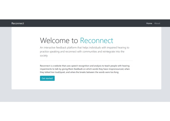 Reconnect – screenshot 1