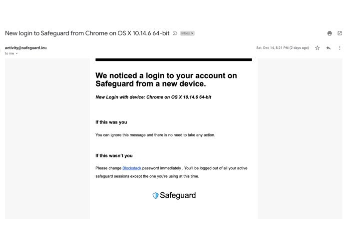 Safeguard – screenshot 3
